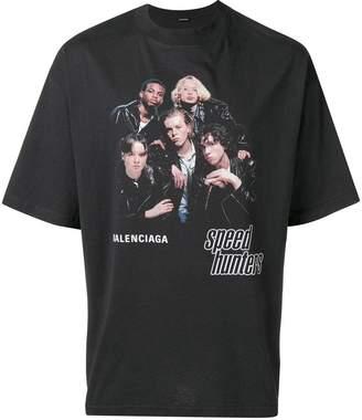 Balenciaga Speedhunters Boyband printed T-shirt