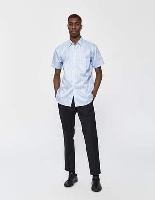 Comme des Garcons Short Sleeve Button Up Shirt in Stripe 1