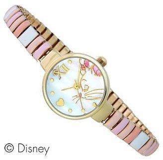 Disney (ディズニー) - Disney ディズニー パステルカラージャバラベルトウォッチ 女の子に人気の腕時計 マリー WD-D03-MA