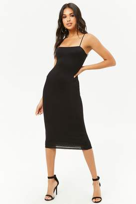 Forever 21 Cami Cutout Dress
