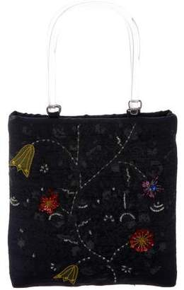 Etro Embellished Handle Bag