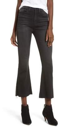 Hudson Jeans Holly High Waist Crop Flare Jeans