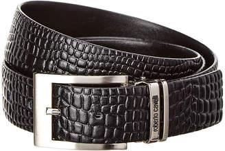 Roberto Cavalli Adjustable Leather Belt