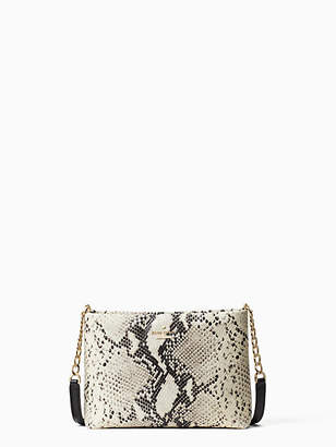 Kate Spade Emerson snake-embossed caterina