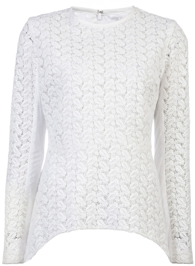 Yigal Azrouel Venice lace sweater