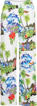 Stella Jean Tropical Wide Leg Pant