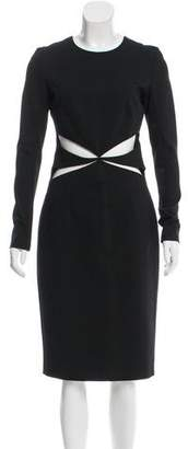 Cushnie et Ochs Cutout Midi Dress w/ Tags