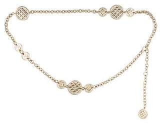 Chanel Medallion Chain Link Belt w/ Tags