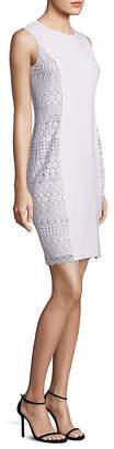 Elie Tahari Dora Sleeveless Lace Sheath Dress