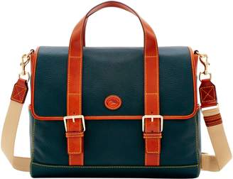 Dooney & Bourke Pebble Grain Hunter Messenger
