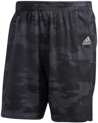 adidas Men's Response Camo-Print Running Shorts