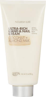 ULTA Luxe Ultra-Rich Hand & Nail Cream $11.50 thestylecure.com