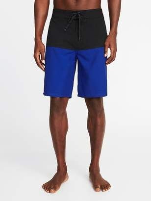Old Navy Color-Block Board Shorts for Men - 10-inch inseam