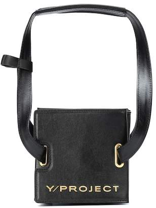 Y/Project Accordion leather shoulder bag