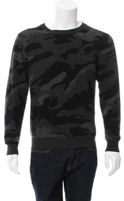 Valentino Camouflage Rockstud Sweater