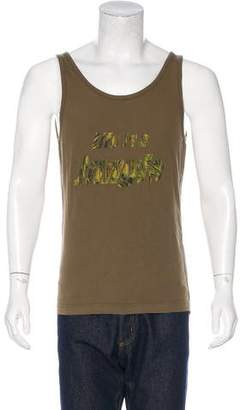 Dolce & Gabbana Jungle Print Sleeveless T-Shirt