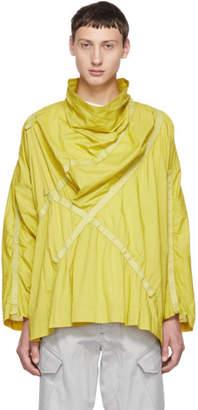 Issey Miyake Yellow Tape Shirt