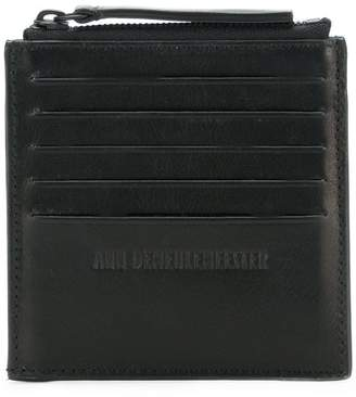 Ann Demeulemeester Blanche zipped card holder