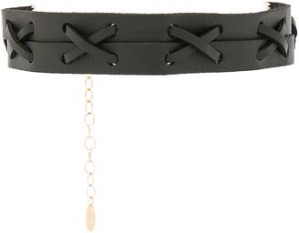 Ettika Leather Choker $39 thestylecure.com
