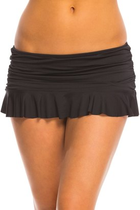 La Blanca Island Goddess Ruffle Skirted Hipster Bottom 8141400 $52.50 thestylecure.com