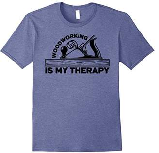Woodworking is my Therapy Carpenter T-shirt