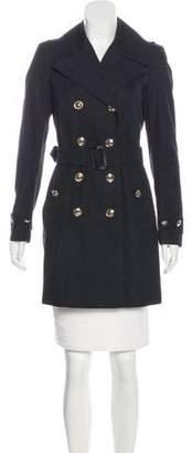 Burberry Belted Short Coat