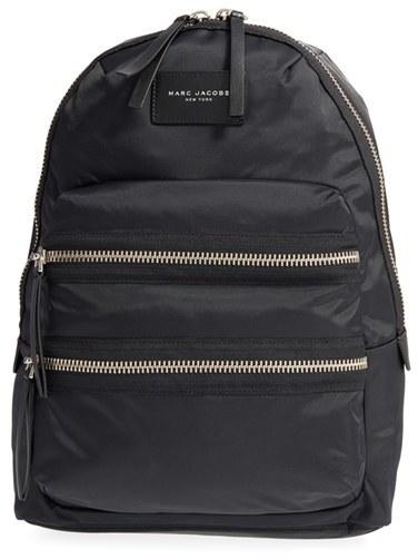 Marc Jacobs 'Biker' Nylon Backpack - Black