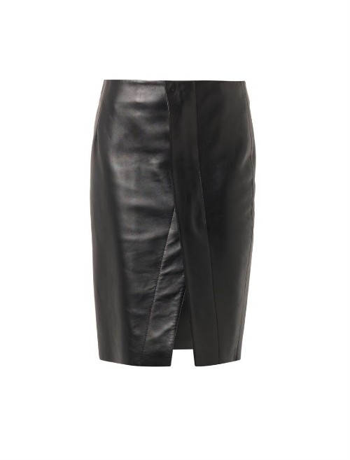 ACNE STUDIOS Kay leather pencil skirt