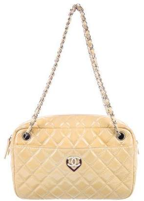 Chanel Patent Heart Camera Bag