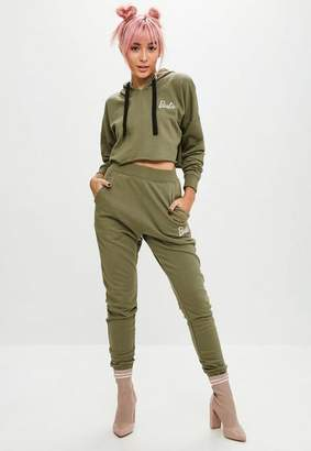 Missguided Barbie x Khaki Jogger