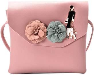 db0e8b7e86fe Jocestyle PU Leather Mini Handbag Women Flower Clutch Messenger Bag Girl Shoulder  Bag