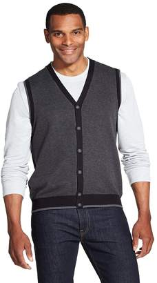 Van Heusen Men's Classic-Fit Button-Front Sweater Vest
