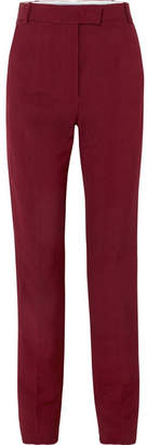 Joseph Reeve Canvas Wide-leg Pants - Burgundy