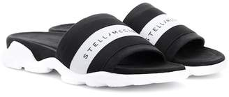 Stella McCartney Striped slides