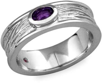 Elle Ambrosia 925 Sterling Silver Amethyst Ring