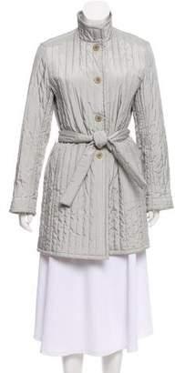Max Mara Belted Short Coat