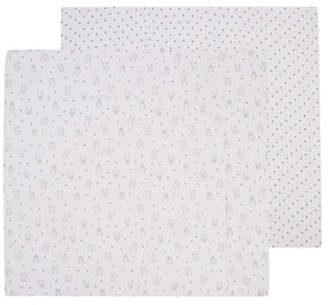 Petit Lem Two-Pack Bear Swaddle Blankets