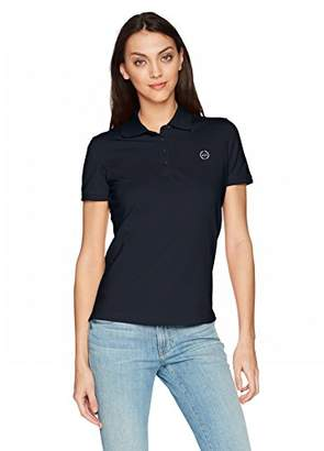 Armani Exchange A|X Women's Solid Logo Polo