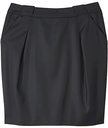 Proenza Schouler / Zip Back Short Skirt