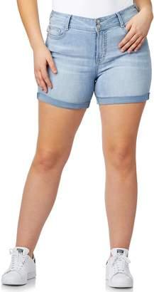 Wallflower Juniors' Plus Size WallFlower Luscious Curvy Bling Shorts