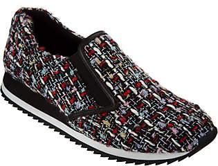 LOGO by Lori Goldstein Novelty Tweed Slip-onSneakers
