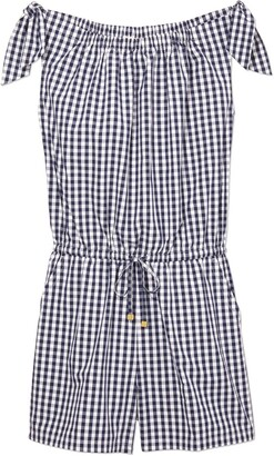 Tory Burch GINGHAM ROMPER