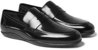 Harry's of London Downing 2 Polished-Leather Loafers
