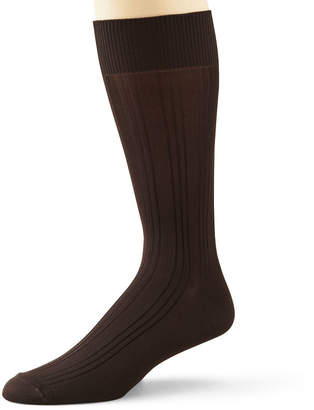 STAFFORD Stafford 3-pk. Mens Microfiber Nylon Crew Socks