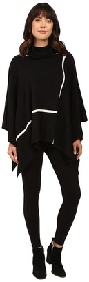 Christin Michaels Gweneth Poncho with Stripes $84 thestylecure.com
