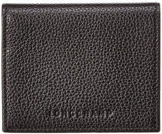 Longchamp Le Foulonne Leather Coin Purse