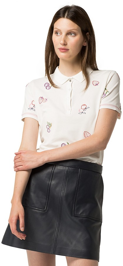 Tommy Hilfiger Embroidered Polo