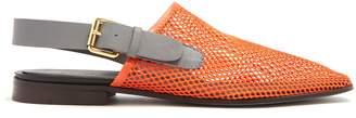 COLVILLE Mesh slingback slippers