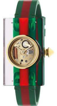 Gucci Vintage Web watch, 24x40mm