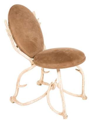 Arthur Court Vintage Faux Antler Side Chair